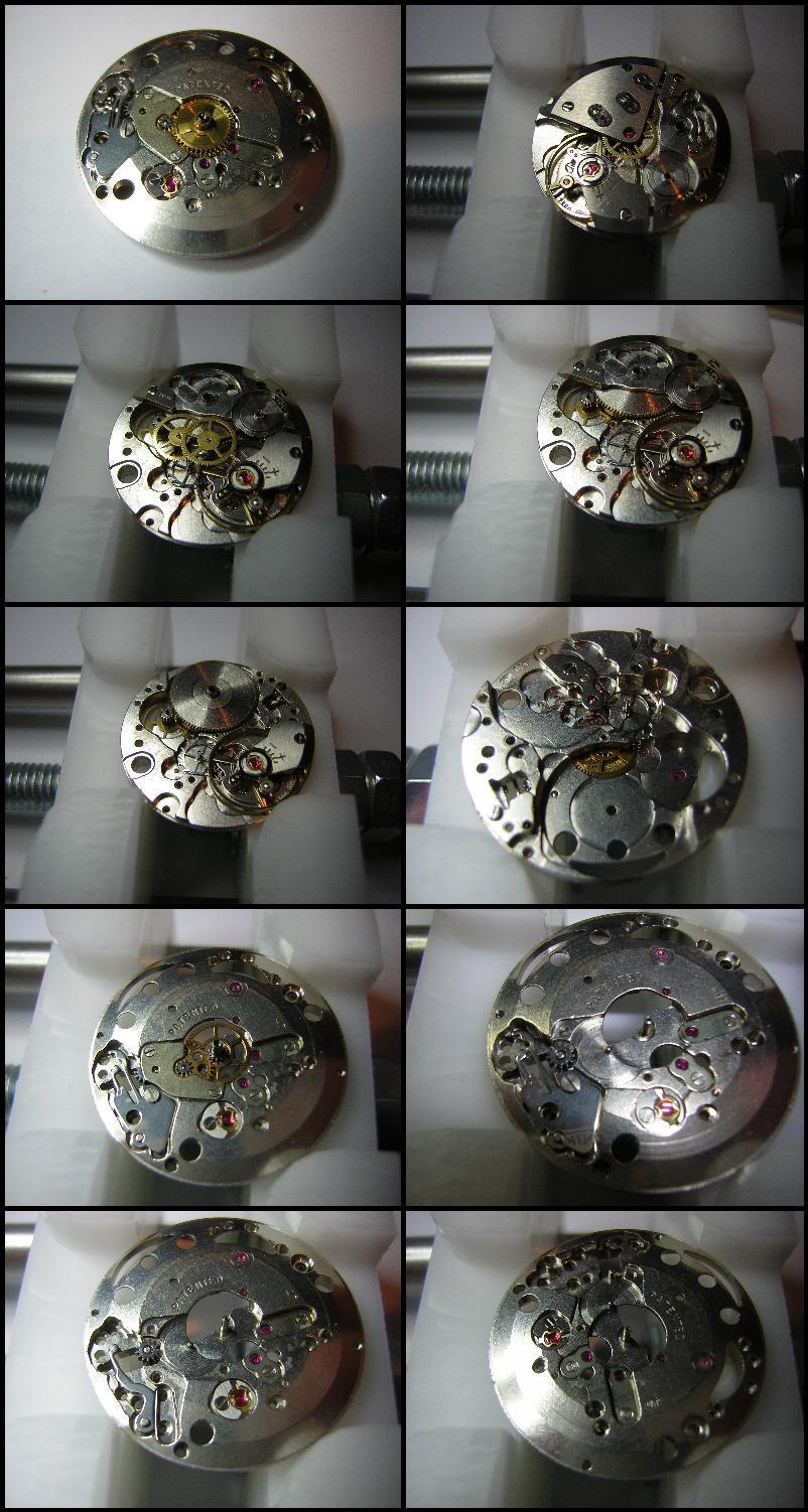 Mes débuts dans la restauration de montre DemontageMouvementMercury